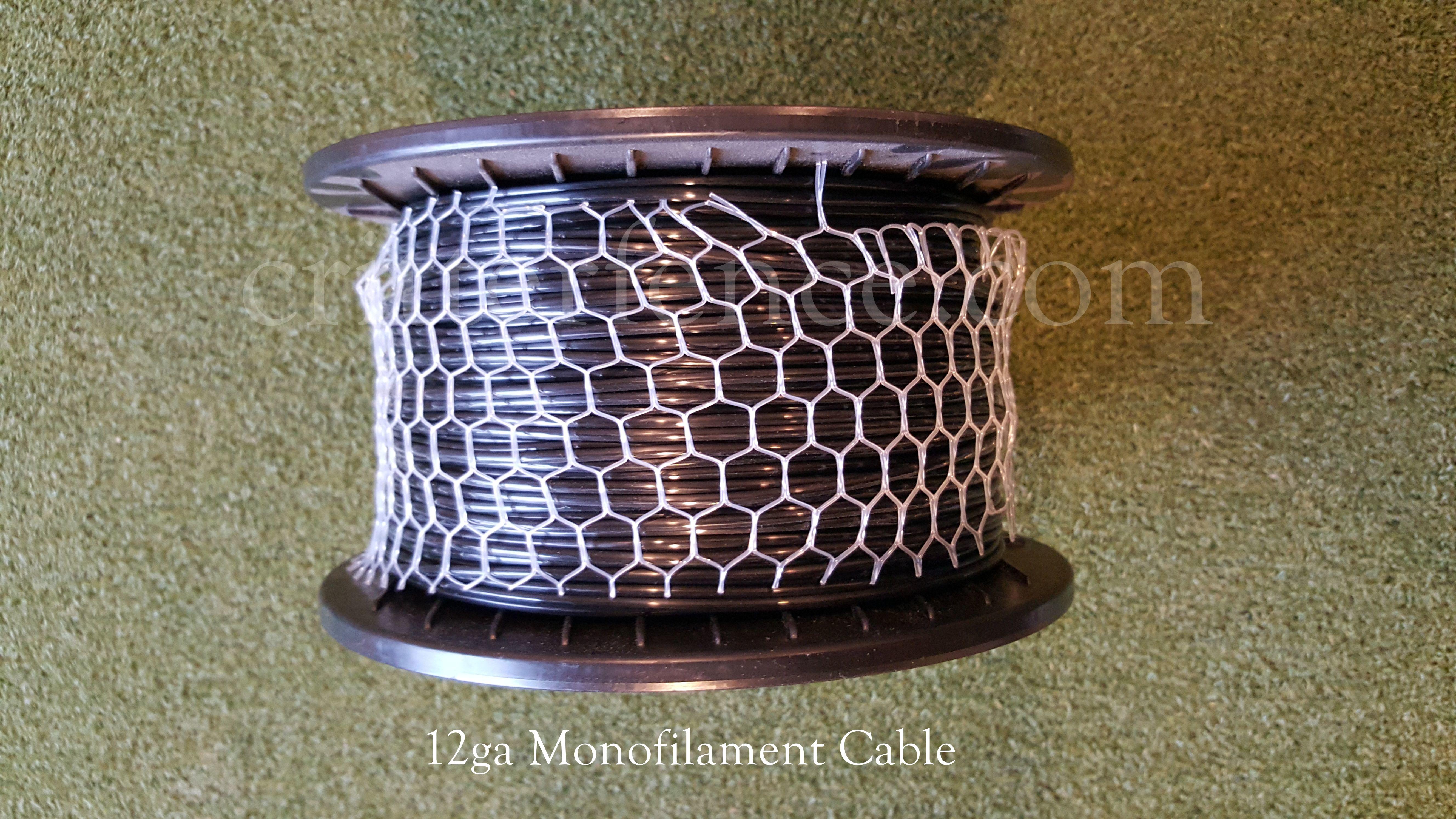12ga 700lb Strength Monofilament Cable 1000 Spool
