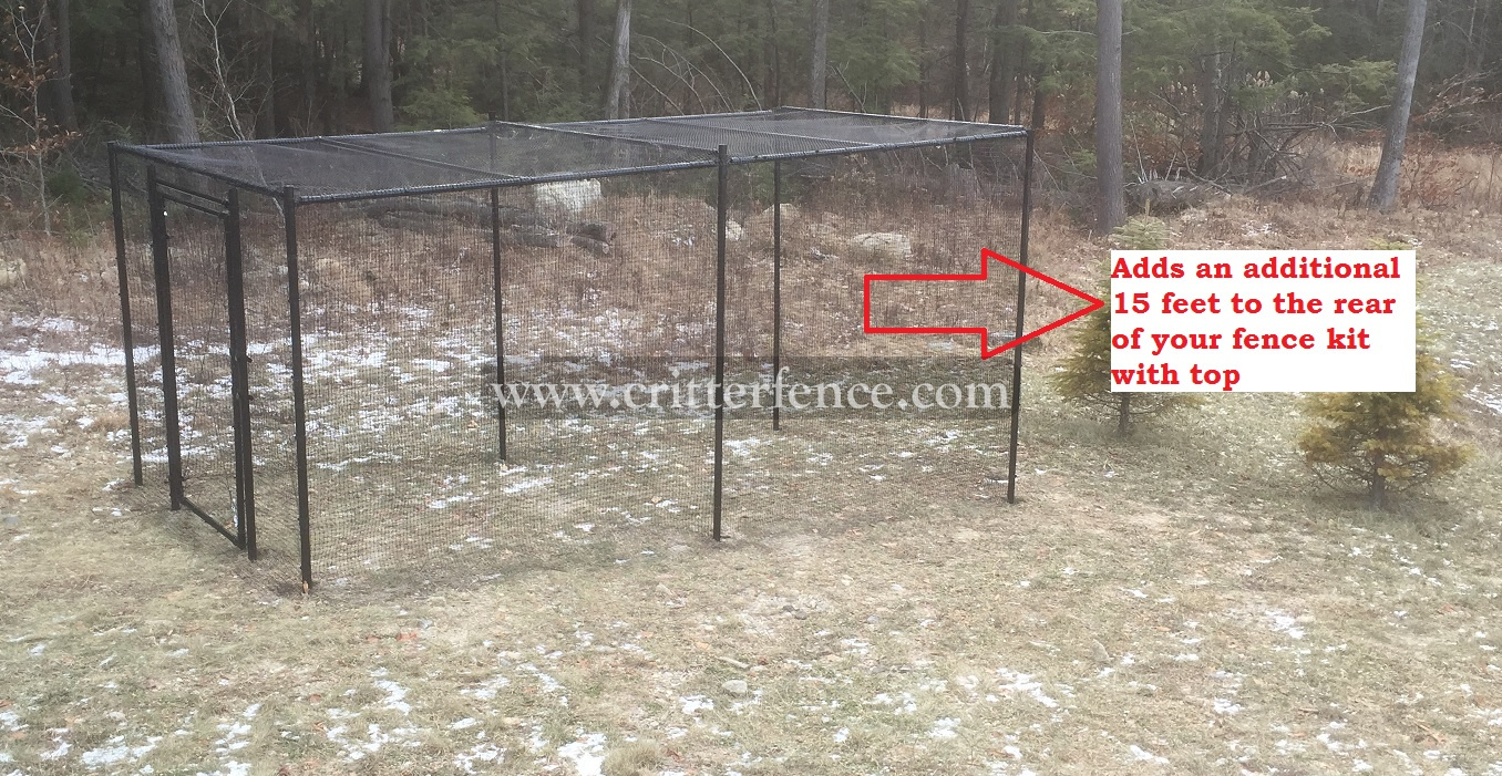 Fence Kit With Top 3 (Rear Extension, Poly) Fence Kit With Top 3 (Rear Extension, Poly)