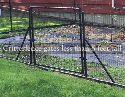 5 1/2ft tall access gates 5 1/2ft tall access gates