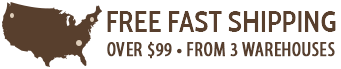 Fast Free Shipping Over $99