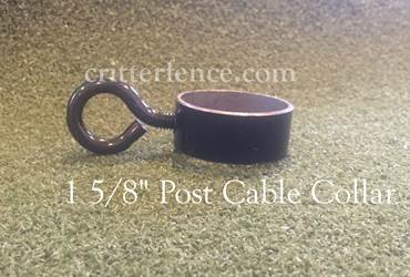 "1 5/8"" post cable collar"
