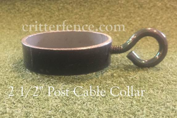 "2 1/2"" post cable collar"