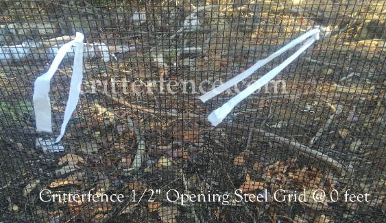 "Critterfence 1/2"" Opening Steel Grid"
