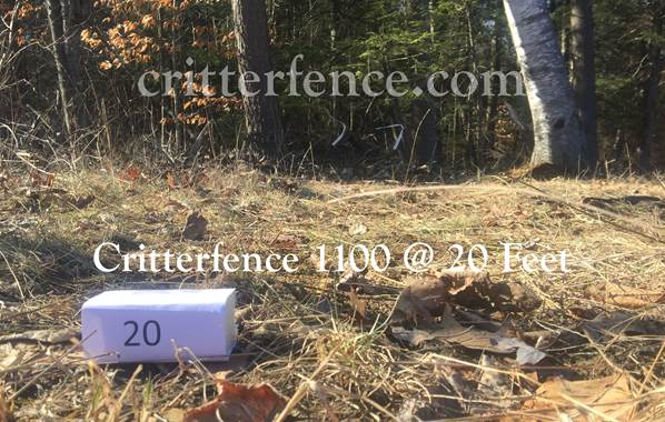 critterfence 1100 at 20 feet