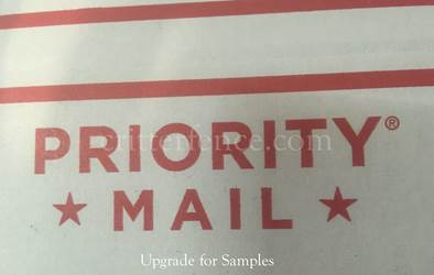 Priority mail FAST 1-3 DAY SHIPPING TIME free samples