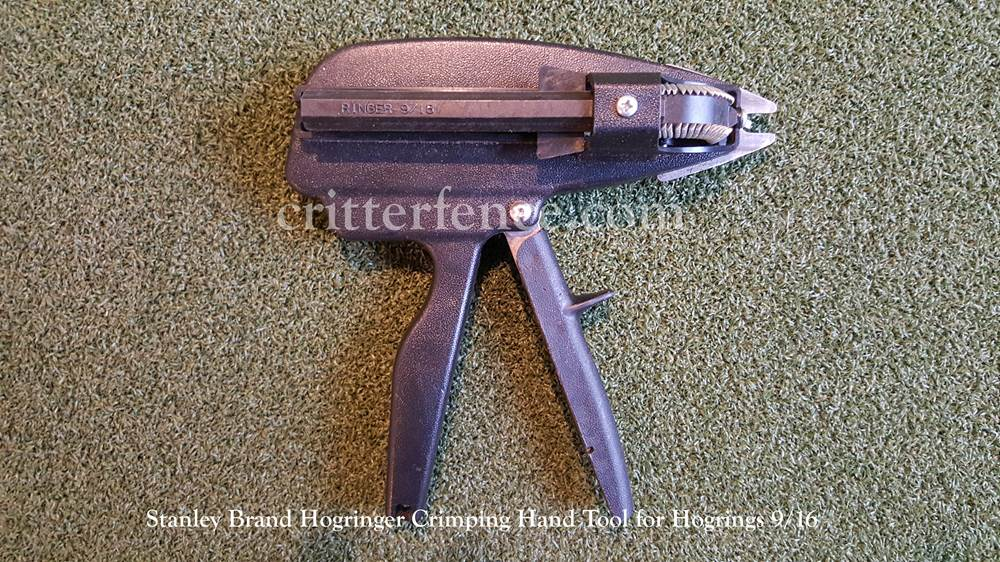 hogringer crimping hand tool. Black Bedroom Furniture Sets. Home Design Ideas