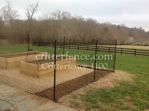Critterfence 1100 deer fencing