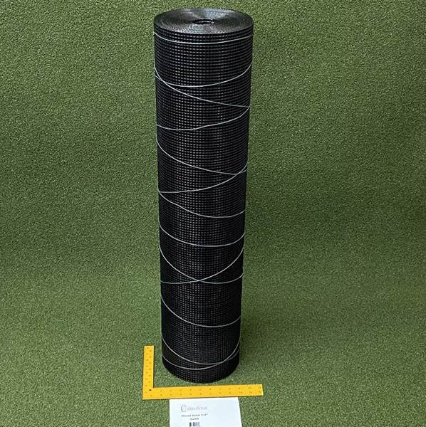 Critterfence Black Steel 1/4 Inch Square Grid 3 x 50 - 685248513484