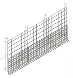 Fence Kit XO1 (10 x 100 Strong) Fence Kit XO1 (10 x 100 Strong)