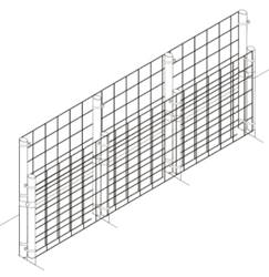 Fence Kit 2 Extend Up To  70 Inches (Chain Link) Fence Kit 2 Extend Up To 6 feet (Chain Link)