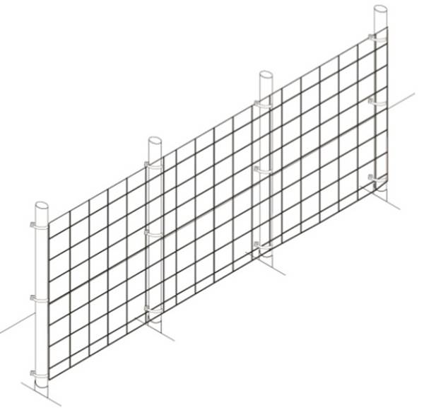 Fence Kit 14 (4 x 100 Strong) - 685248511015