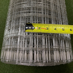 Critterfence Stainless Steel 16GA 1.5 Inch Square Grid 6 x 100 NEW Critterfence Stainless Steel 16GA 1.5 Inch Square Grid 6 x 100