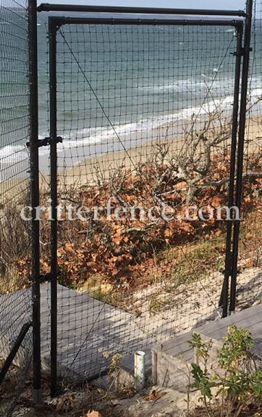 6ft tall access gates -