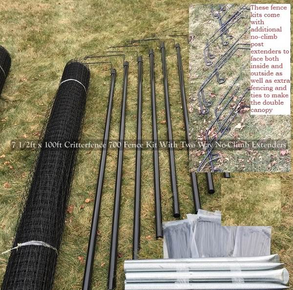 Fence Kit 2C1 (8 x 100 Strong) - 685248511596