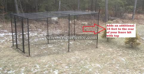 Fence Kit With Top 6 (Rear Extension, All Metal) Fence Kit With Top 6 (Rear Extension, All Metal)