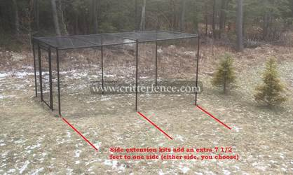 Fence Kit With Top 5 (Side Extension, All Metal) Fence Kit With Top 5 (Side Extension, All Metal)
