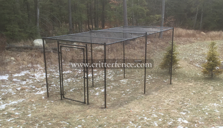 Fence Kit With Top 4 (7.5 tall x 112 Square Feet All Metal) Fence Kit With Top 4 (7.5 tall x 112 Square Feet All Metal)
